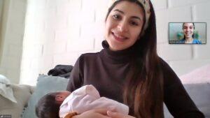Ganadora de la Asesoría de Lactancia Materna
